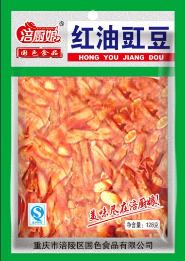128克红油豇豆